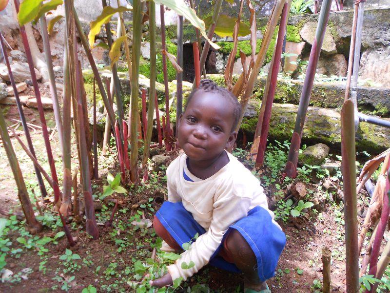 Maluchy z Yaounde w Kamerunie