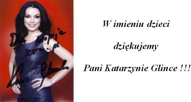 Katarzyna Glinka także pomaga.