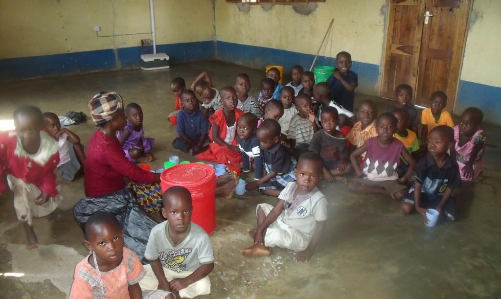 Przedszkolaki z Kigera Etuma