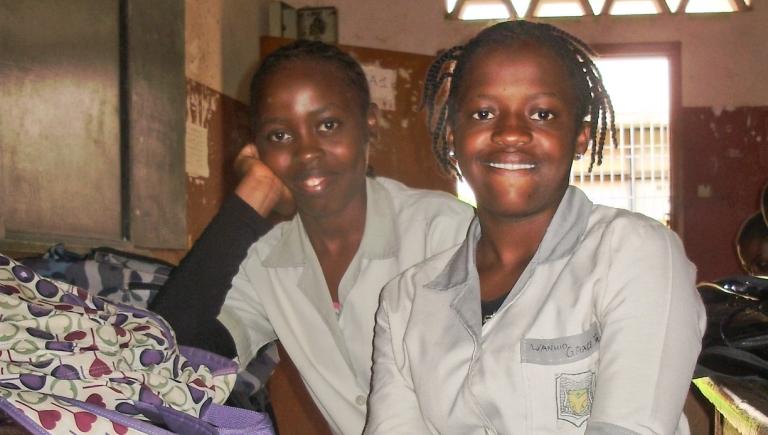 Grece z Kamerunu zdała egzaminy i będzie studiować pielęgniarstwo !