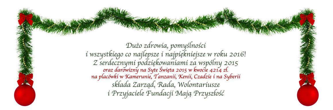 Wyniki zbiórki na Święta 2015 – dziękujemy za pomoc!