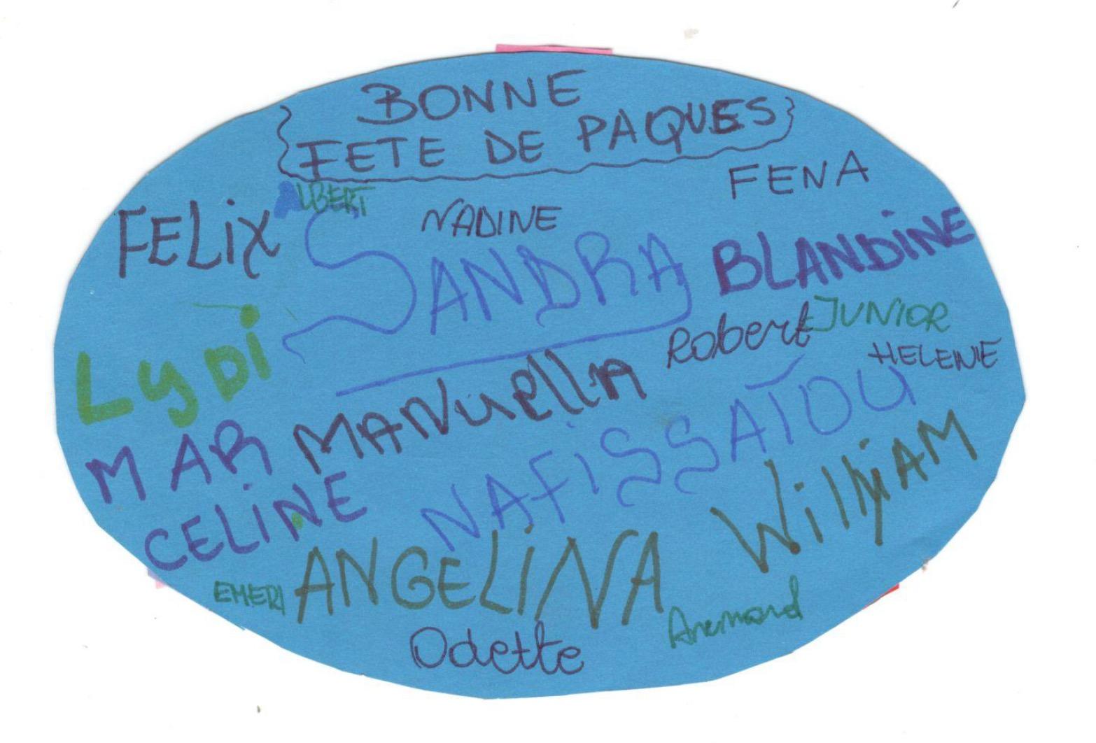 Życzenia Wielkanocne od Podopiecznych z Kamerunu
