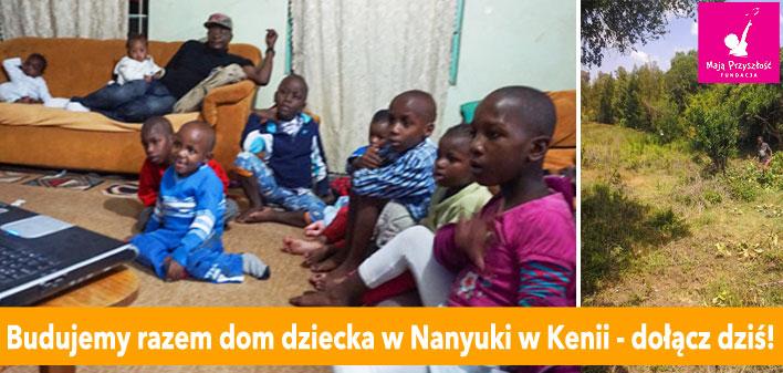Budujemy dom dziecka w Nanyuki w Kenii!