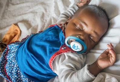 Mleko dla niemowląt z domu dziecka w Kenii