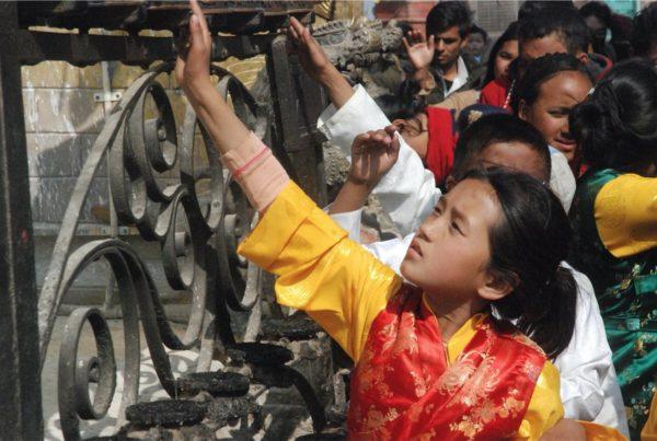 Świętowanie Nowego Roku w Nepalu