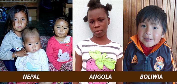 Adopcja w Nepalu (Azja), Boliwii (Ameryka Pd) i Angolli (Afryka)